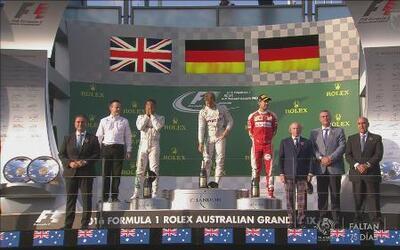 Rosberg y Hamilton hacen el 1-2 para Ferrari en el GP de Australia