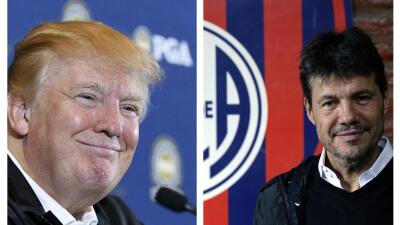 Donald Trump y Marcelo Tinelli