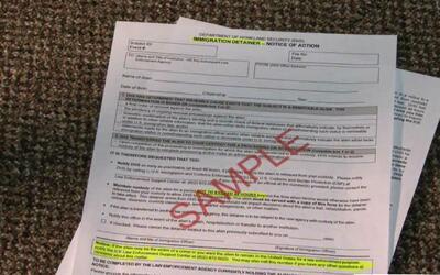 Nuevo formulario pide a autoridades locales detener 48 horas más a inmig...