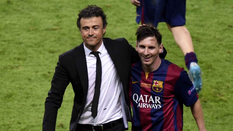 La IFFHS premio a Luis Enrique y Messi