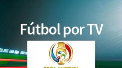 Copa América Centenario por TV