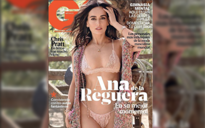 Ana de la Reguera aparece en la portada de mayo de GQ México.