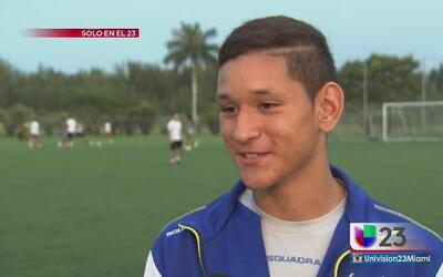 Jordi va tras el sueño mundialista de fútbol