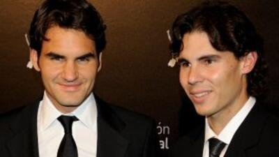 Roger Federer y Rafael Nadal pelearán todo el 2011 por el priemr lugar d...