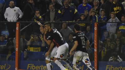 Matos anotó el gol del triunfo en el último minuto