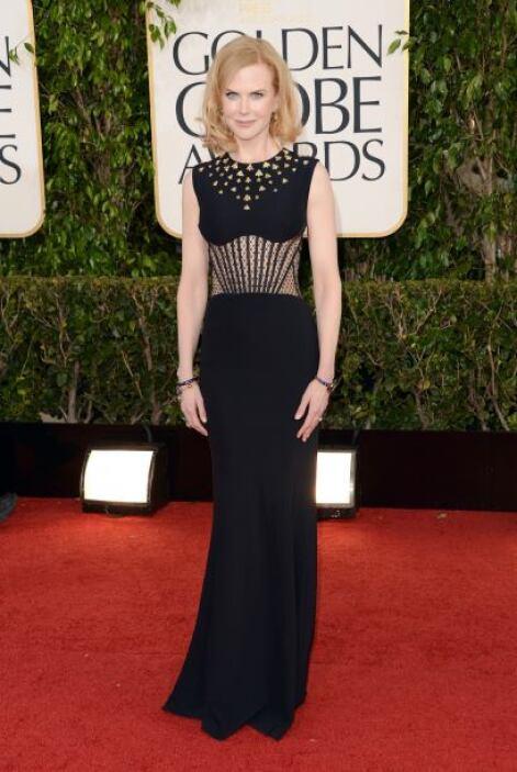 Quien va mejorando bastante es Nicole Kidman, pues cada vez se atreve a...