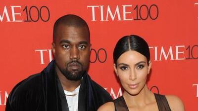 Fue una noche alocada para Kim y Kanye.