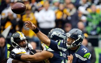 Los Seattle Seahawks vencieron 39 - 30 a los Pittsburgh Steelers en duel...