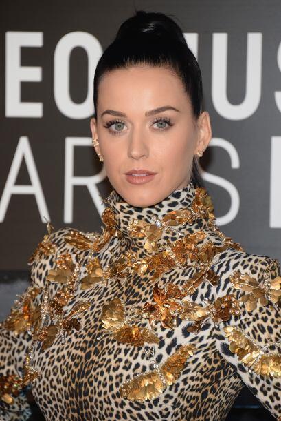 La buena presentación también viene en colas de caballo. Katy Perry llev...