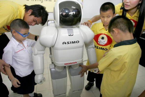 El humanoide de Honda también puede diferenciar las voces y rostr...