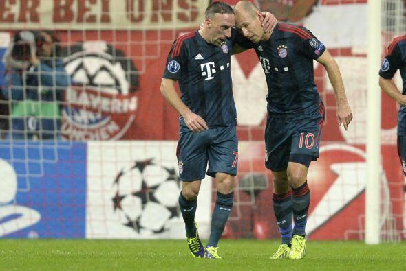 Por su parte, el Bayern Munich de Josep Guardiola se despachó a lo grand...