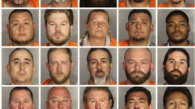 Estos son algunos de los arrestados tras el mortal enfrentamiento en Wac...