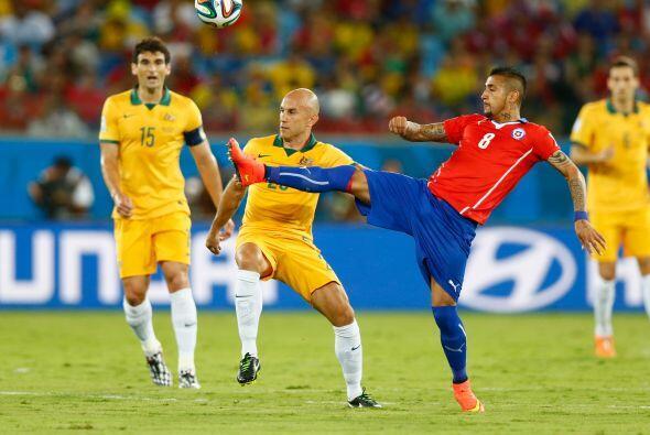 Australia seguía en busca del empate pero no concretaba las que t...