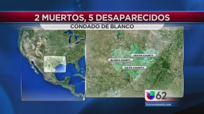 Confirman dos muertes en el condado Blanco