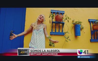 Brittany Santacroce hace música para ayudar