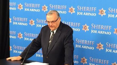 Joe Arpaio confirmó las muertes de una madre y sus dos hijos en lo que s...