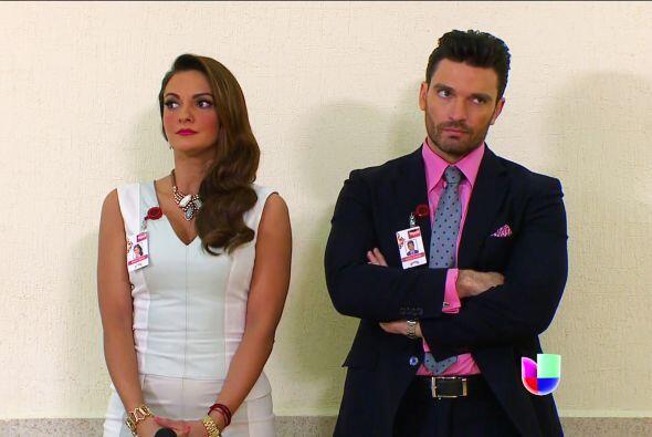 No se ven nada contentos Patricio y Silvana, no esperaban que los emplea...