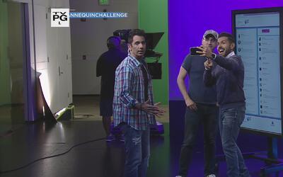 El 'Mannequin Challenge' llega a Univision Puerto Rico