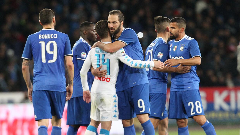 Nápoles y Juventus empatan en San Paolo (1-1)