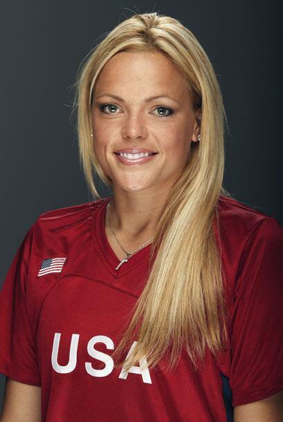 Además de su belleza debutó en los Juegos Olímpicos en la edición de Ate...