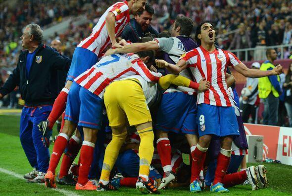 El Atlético de Madrid dominó los 90 minutos y fue un justo ganador, gole...