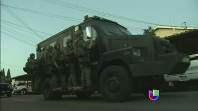 Detienen a decenas por conexiones con la mafia mexicana
