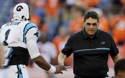 Cam Newton & Ron Rivera