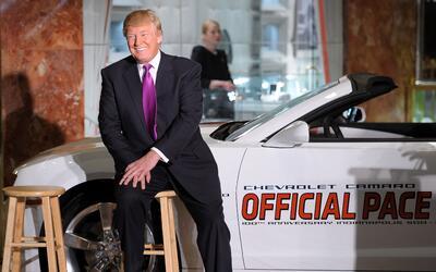 El hoy presidente electo Donald Trump posa en esta imágen de abri...