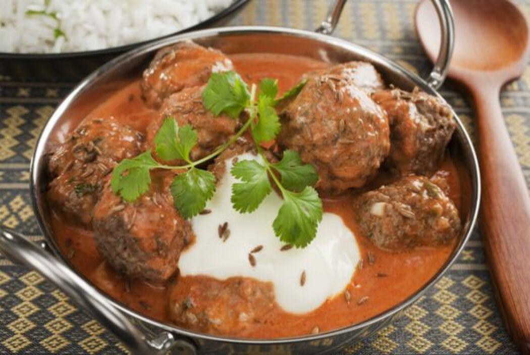 Carne de res al curry  Esta receta la preparas rapidito y queda delicios...
