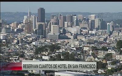 Se disparan los precios de hotel en San Francisco