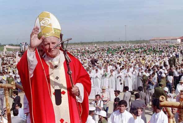 Países latinoamericános visitados por el Papa:Argentina (j...
