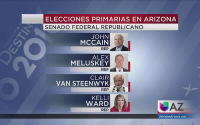 Cerrada contienda electoral en Arizona