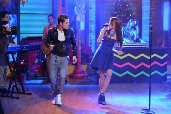 William no resistió las ganas de bailar junto a esta gran artista y nos...