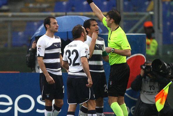 En esos momentos, el Lazio se empezó a desesperar y el mundo se les vino...