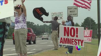 Convocan a protestar contra la llegada de inmigrantes