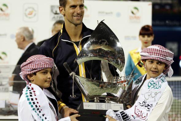 Para febrero consiguió apoderarse del Torneo de Dubai por cuarta...