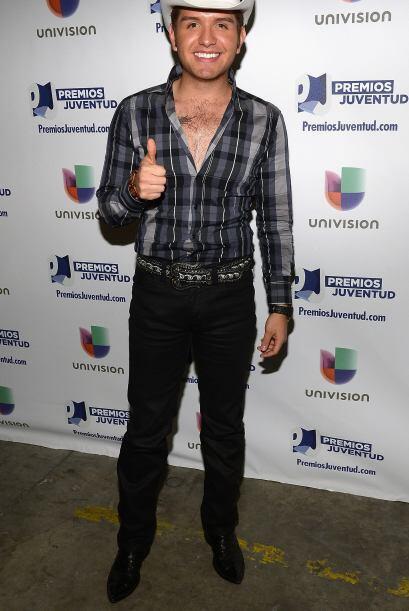En el anuncio de los nominados a Premios Juventud en mayo de 2013.