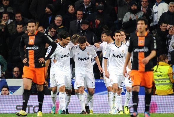 Triunfo madridista que deberá defender la ventaja de dos goles en la vue...