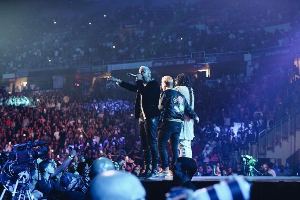 2. Cantó 'Otra vez' en el Coliseo en el concierto de Zion &...