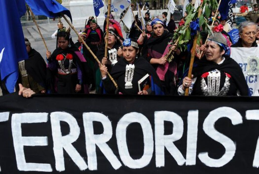 Chile vivió una jornada de protestas simultáneas en solidaridad con los...