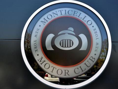 BMW eligió el Montocello Motor Club al norte de Nueva York para la prese...