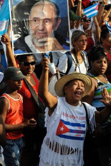Cuba fue otra de las naciones que celebró este 1 de mayo el Dìa del Trab...