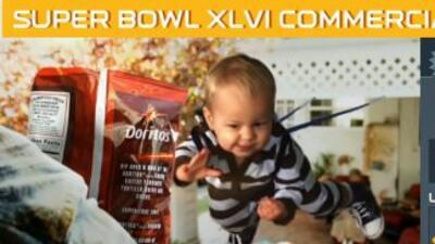 Unos 63 comerciales fueron transmitidos durante el Super Bowl XLVI.