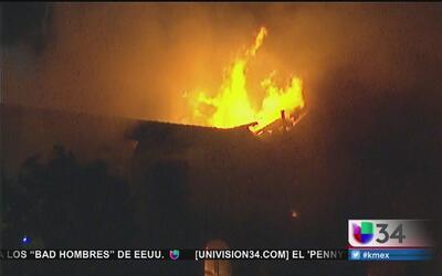 Se incendia una mansión de tres pisos en Mount Washington