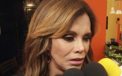 Lucia Méndez recordó a Juan Gabriel y declaró que extrañará sus consejos...