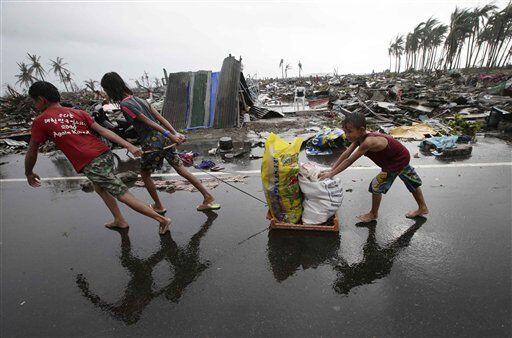 Una vez que pase el tifón se podrá tener una mejor idea del daño causado...