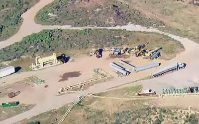 Decenas de familias de Porter Ranch exigen el cierre definitivo del Alis...