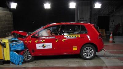 El nuevo Golf probó que es un auto muy seguro. (Foto: Latin NCAP)