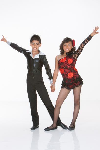 Darina y Edson, bailarines de Gigantes en Acción