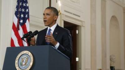 Barack Obama anunció una acción ejecutiva en materia de migración.